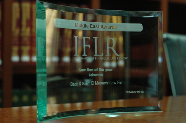 IFLR2013 Award